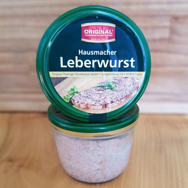 Leberwurst im Glas