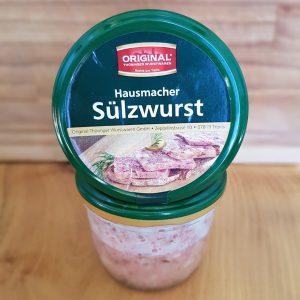 Sülzwurst im Glas