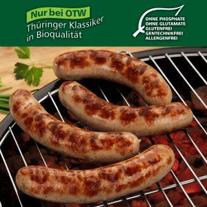 BIO - Original Thüringer Rostbratwurst