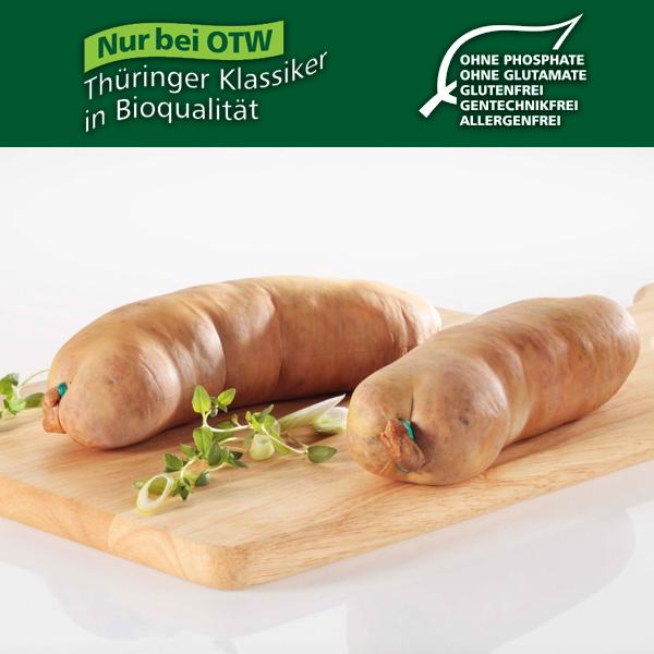 BIO - Original Thüringer Leberwurst